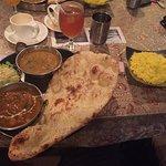 Vegetarian Thali dish