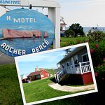 Hotel Motel Rocher Perce B&B Foto