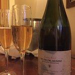 Ganhamos esse vinho do hotel Los Cauquenes