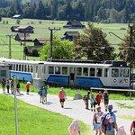 Zugspitz'den gelen tren