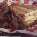 Delicious sandwich!