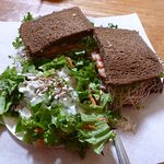 Corned Beef & Side Salad...