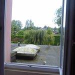 Pas terrible la vue côté jardin...