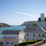 Salcombe Harbour Hotel boasts a fantastic position overlooking Salcombe estuary