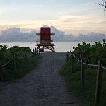 Public Beach Access behind Hotel