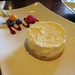 Lemon Cheesecake at The Castle Inn