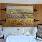 Enjoy a romantic dinner at the Cafe Provencal - located in Wedmore Place