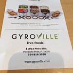 Kinda quick service Greek in  Pembroke Pines