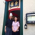 Chef Lee and wife Lorna