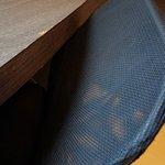 Kaputter Tisch/Stuhl