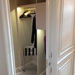 Walk-in cupboard of room 420