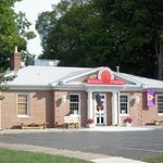 Visit Gina's Pizza & Deli in Albion Michigan.  We are located in an old bank - and serve fresh f