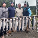 Sockeye on our first day fishing