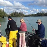 Silver fishing on the Kenai