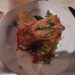Brick ( pâte filo ) au saumon