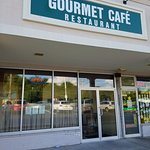 The front of Gourmet Cafe.