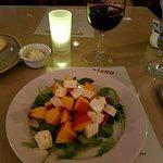 Peach Caprice Salad.