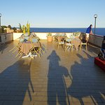 Serata con cena in terrazza