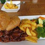 Steak & Ale Pie at Mabie House Hotel
