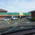 Front entrance & parking lot