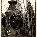 Cumbres & Toltec Narrow Gauge Railroad Lantern, Aug 2016.