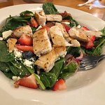 Strawberry/blueberry Chicken Salad with Bacon Bits