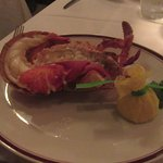 1/2 of 3 lb lobster - great to share