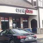 Entrance to Crave Pizza