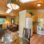 Woodland Retreat Kitchen/Living Room