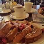Stuffed Door Co Cherry French Toast.
