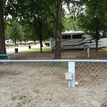 Photos of the RV park and also the dock area in front of the hotel.