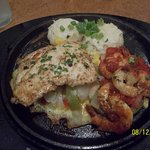 Chicken and shrimp 17.99