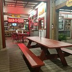 outside seating