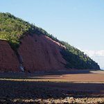 Blomidon Provincial Park when the tide is out.