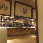Interior of Town Square Restaurant