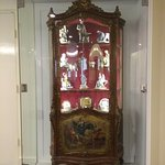 China Cabinet in Lounge.