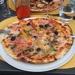 Pizza fine et croustillante !