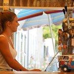 L'Ile d'Aix a sa vendeuse de glace