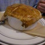 The huge Pot Pie.