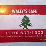 Wally's Cafe menu