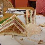 Club sandwich (metà, almeno)