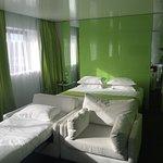 Accès chambres, chambre avec balnéothérapie