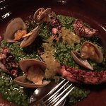 Wet rice with clams & chargrilled octopus...the octopus is so tender