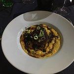 Cafe llorca a Vallauris, environnement et plats