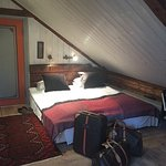 Our Great room - The Matros Suite - (antique loft) at Det Lille Hotel in Ridør.