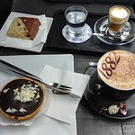 Amazing coffee with great treats :)