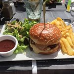 Hamburger poulet tandorri