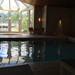 Indoor pool is nice but can't make noise as it also serves for those who use the spas and want t