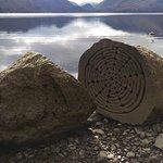 Millenium stones in Derwentwater