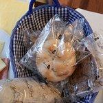Freshly baked gluten free breakfast breads.